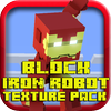 Patyi Kati - Block Iron Robot 3D World Texture Pack for Minecraft artwork